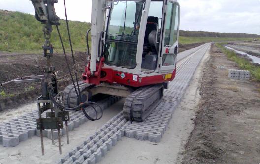 Machines voor de wegenbouw
