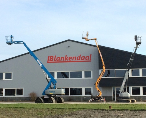 Gebouw van Loonbedrijf Blankendaal te Spierdijk