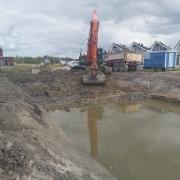 Watergang graven